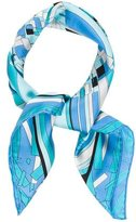 Emilio Pucci Woven Abstract Scarf