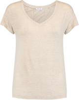 Splendid Ruched stretch-jersey top