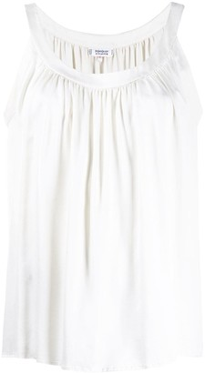 Yves Saint Laurent Pre Owned 1970's Pleated Top