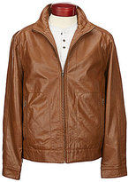 Roundtree & Yorke Faux-Leather Jacket