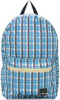 Marni linear checked backpack