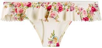 Zimmermann Honour Scallop Bikini Bottoms