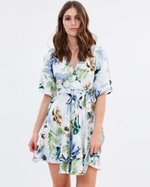Wish Now And Later Wrap Dress