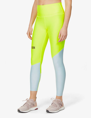 P.E Nation Twist Serve stretch-recycled polyester leggings