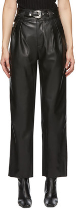 Simon Miller Black Barr Sack Waist Trousers