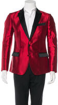 Dolce & Gabbana Silk Peak-Lapel Blazer