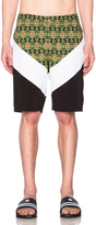 Givenchy Banded Carpet Print Swim Shorts