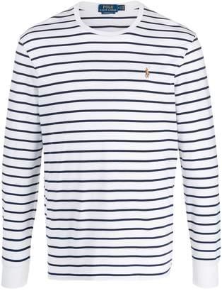 Polo Ralph Lauren striped round neck sweater