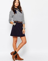 Esprit Button Up Mini Skirt