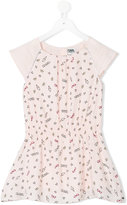 Karl Lagerfeld print dress - kids - Viscose - 2 yrs