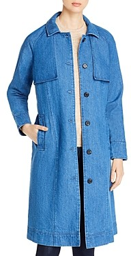 Vero Moda Mina Denim Trench Coat