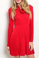 Michele Poppy Red Dress