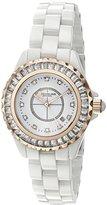 Stuhrling Original Women's 'Vogue' Quartz White Casual Watch (Model: 530S2.114EP3)