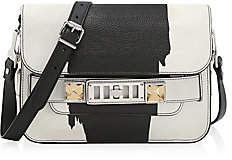Proenza Schouler Women's Mini PS11 Classic Printed Leather Crossbody Bag