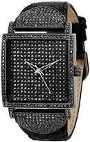 Peugeot Women's J5667GN Analog Display Japanese Quartz Black Watch