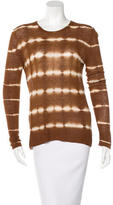 Michael Kors Long Sleeve Tie-Dye Top