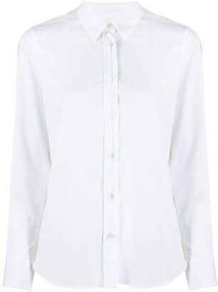 Golden Goose Long Sleeves Paneled Shirt
