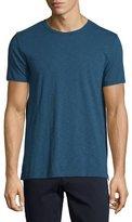 Vince Slub Crewneck T-Shirt, Prussian Blue