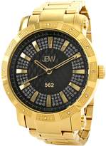 JBW Men's Men's 562 Round Swiss Quartz Watch