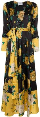 We Are Leone Floral Print Maxi Cardigan