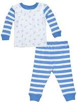 Under the Nile Little People 2-piece Long Johns (Blue) - 18 months by