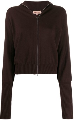 Romeo Gigli Pre-Owned 1990s Puffy Long Sleeves Zipped Top