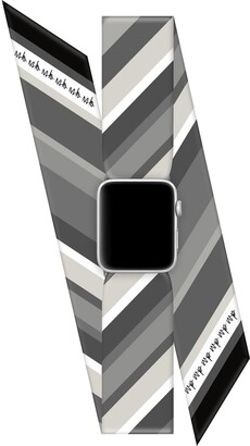 Wristpop Black Licorice 38mm/40mm Apple Watch Scarf Watch Band