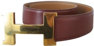Hermã ̈S HermAs H Brown Leather Belts