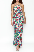 Mystic Embroidered Maxi Dress