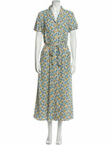 Thumbnail for your product : HVN Silk Long Dress w/ Tags Blue