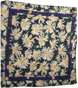 Ermenegildo Zegna Navy Silk Scarves & pocket squares