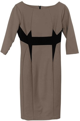 Thomas Rath Beige Cotton Dress for Women