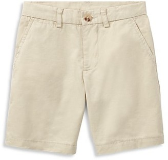 Ralph Lauren Boy's Flat Front Chino Shorts