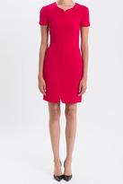 J. Mendel Cap Sleeve Techno Jersey Dress
