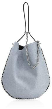 Alexander Wang Roxy Denim Hobo Bag