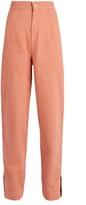 Isabel Marant Elwood high-rise denim peg-leg trousers