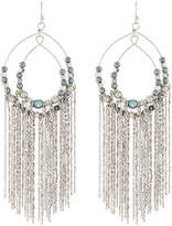 Lydell NYC Pearly Chain Fringe Earrings