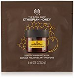 The Body Shop Ethiopian Honey Deep Nourishing Mask, Single Use Expert Facial Mask, Paraben Free, 0.2 Oz.