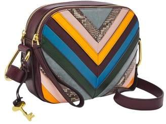 Fossil Elle Crossbody Handbags Purple Multi