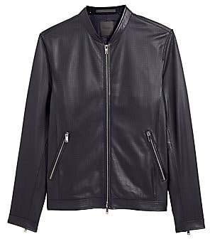 Theory Men's Morrison Benji Lamb Leather Jacket