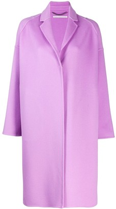 Stella McCartney Single-Breasted Snap-Button Coat