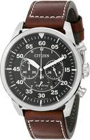 Citizen Men's Avion CA4210-24E Wrist Watches, Black Dial