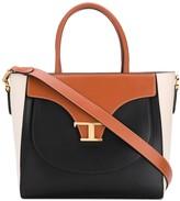 Tod's tri-colour tote bag