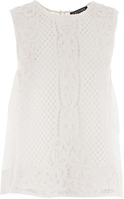 Twin-Set TWINSET Sleeveless Lace Top