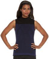 Dana Buchman Women's Colorblock Sleeveless Sweater