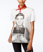 Hybrid Juniors' Elvis Presley Graphic T-Shirt