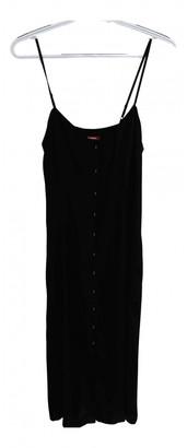 Comptoir des Cotonniers Black Silk Dresses