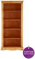 Corona Solid Pine Tall Bookcase