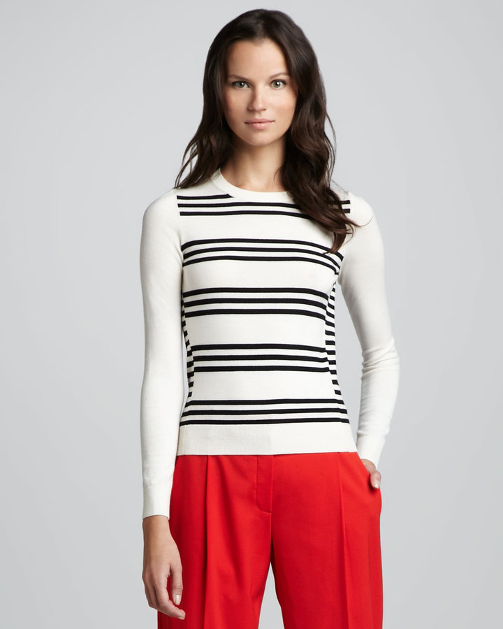 Theory Tommie Striped Sweater
