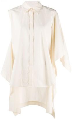UMA WANG Deconstructed Oversized Shirt